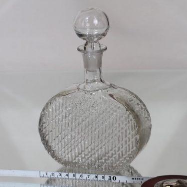 Riihimäen lasi Flindari koristepullo, 50 cl, suunnittelija Nanny Still, 50 cl, pieni kuva 2