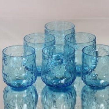 Nuutajärvi Frutta lasit, 25 cl, 6 kpl, suunnittelija Oiva Toikka, 25 cl