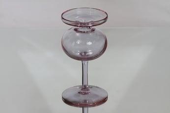 Iittala 2662 kynttilänjalka, neodymi, suunnittelija Erkki Vesanto,