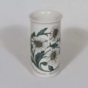 Arabia Botanica maljakko, Päivänkakkara, suunnittelija Esteri Tomula, Päivänkakkara, serikuva