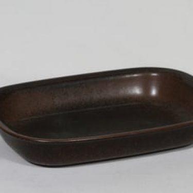 Arabia Ruska kulho, ruskea lasite, suunnittelija Ulla Procope,