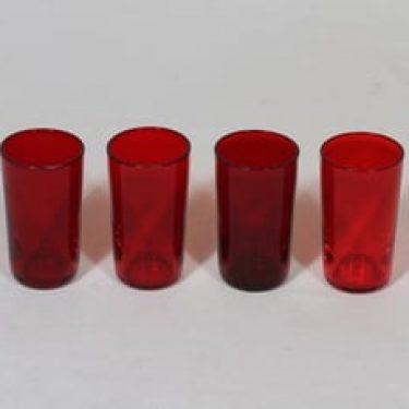 Nuutajärvi 1153 lasit, 3 cl, 4 kpl, suunnittelija Kaj Franck, 3 cl, pieni