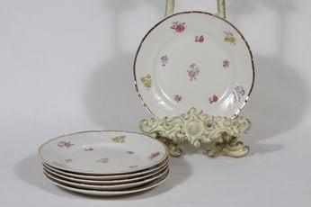 Arabia Rosita leivoslautaset, 6 kpl, suunnittelija Svea Granlund, pieni, siirtokuva
