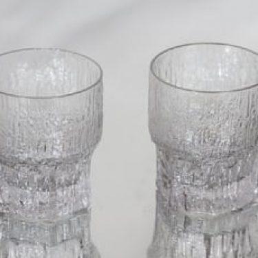 Iittala Aslak viskilasit, 35 cl, 2 kpl, suunnittelija Tapio Wirkkala, 35 cl, suuri