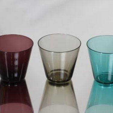Nuutajärvi Kartio lasit, 10 cl, 3 kpl, suunnittelija Kaj Franck, 10 cl