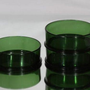 Kumela 1071=1511 kulhot, vihreä, 3 kpl, suunnittelija Olavi Ruottinen,