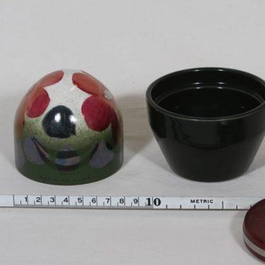 Arabia koriste-esine, Ikikukka, suunnittelija Heljä Liukko-Sundström, Ikikukka, käsinmaalattu kuva 2
