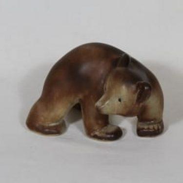 Arabia eläinfiguuri, karhu, suunnittelija , karhu, käsinmaalattu