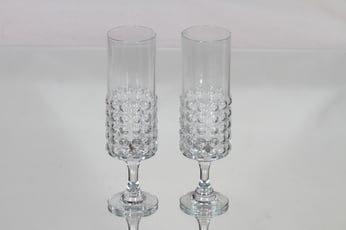 Riihimäen lasi Grappo kuohuviinilasit, 15 cl, 2 kpl, suunnittelija Nanny Still, 15 cl