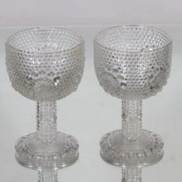 Riihimäen lasi Grapponia viinilasit, 15 cl, 2 kpl, suunnittelija Nanny Still, 15 cl