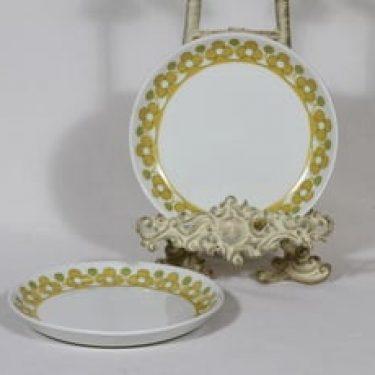 Arabia Anna lautaset, 2 kpl, suunnittelija , serikuva, retro
