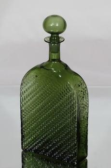 Riihimäen lasi Flindari karahvi, 1 l, suunnittelija Nanny Still, 1 l, suuri