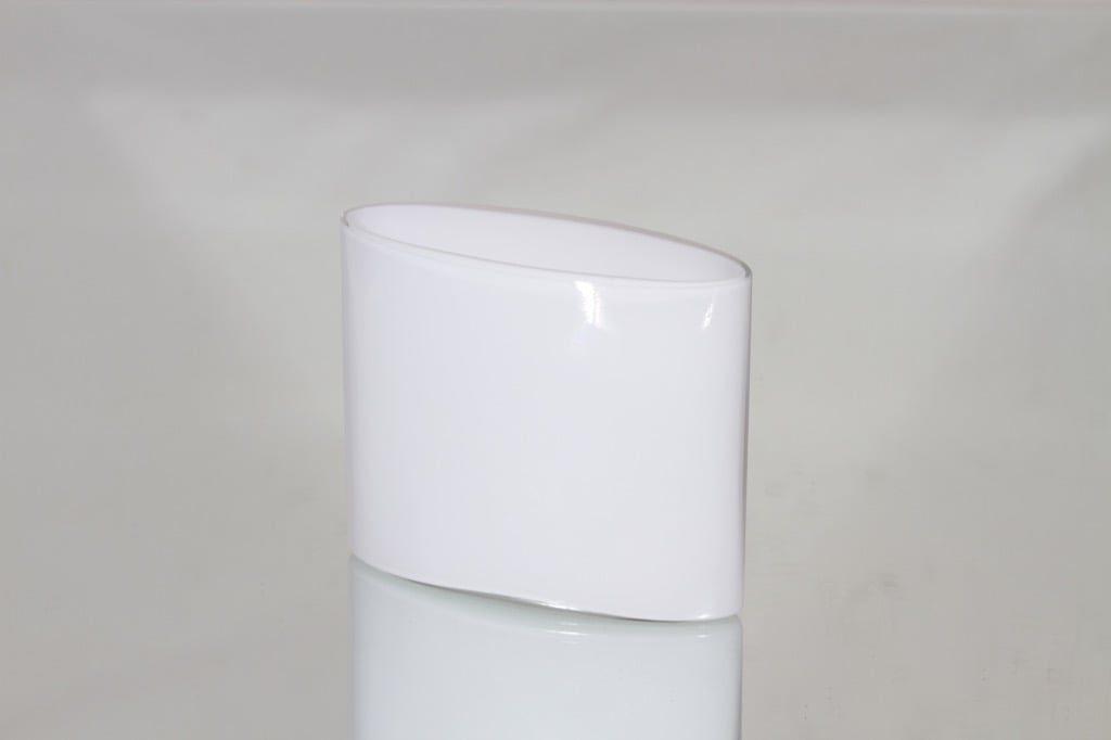 Iittala Ovalis maljakko, konesigneerattu, suunnittelija tapio Wirkkala, konesigneerattu, pieni