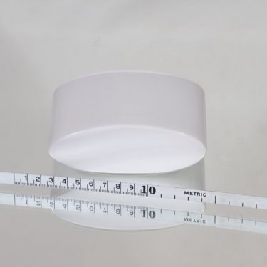Iittala Ovalis maljakko, konesigneerattu, suunnittelija tapio Wirkkala, konesigneerattu, pieni kuva 2