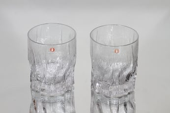 Iittala Kelo lasit, 22 cl, 2 kpl, suunnittelija Tapio Wirkkala, 22 cl