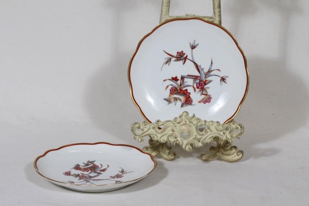 Arabia kukkakuvio lautaset, 2 kpl, suunnittelija , pieni, siirtokuva
