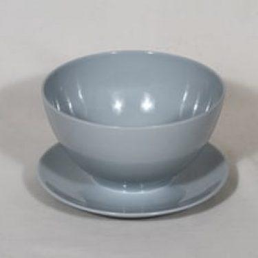 Arabia malli/model X kastikekulho, sininen lasite, suunnittelija ,