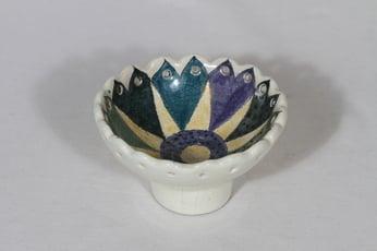 Arabia bowl, hand-painted, Hilkka-Liisa Ahola