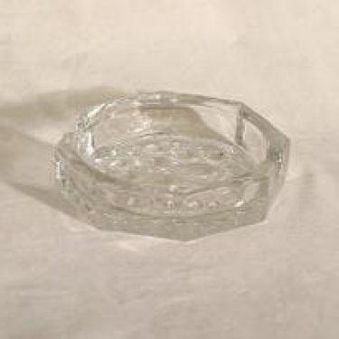 Riihimäen lasi Stella Polaris tuhka-astia, suunnittelija Nanny Still,