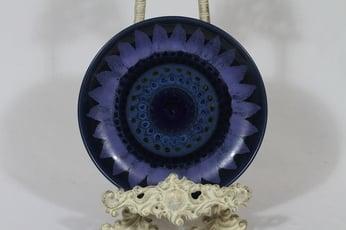 Arabia Kuutamo plate, hand-painted, designer Hilkka-Liisa Ahola, hand-painted, small, signed
