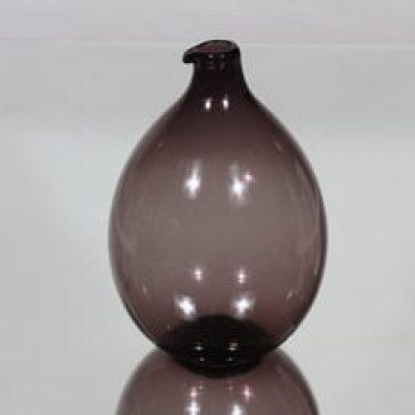 Iittala i-401 Lintupullo koristepullo, i-väri, suunnittelija Timo Sarpaneva, i-väri, pyöreä, signeerattu