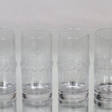 Iittala Niva lasit, 30 cl, 4 kpl, suunnittelija Tapio Wirkkala, 30 cl