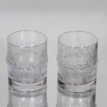 Iittala Niva lasit, 20 cl, 2 kpl, suunnittelija Tapio Wirkkala, 20 cl