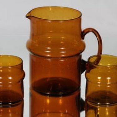Humppila Talonpoika kaadin. 1.5 l ja lasit, 25 cl, 2 kpl, suunnittelija , 25 cl