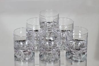 Iittala Gaissa lasit, 12 cl, 6 kpl, suunnittelija Tapio Wirkkala, 12 cl