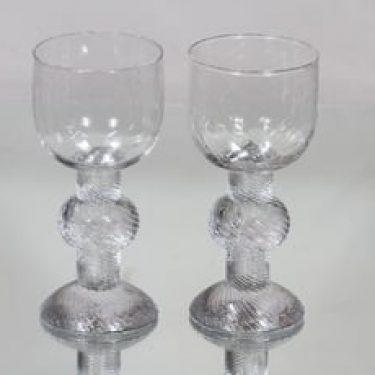 Iittala Ritari lasit, 20 cl, 2 kpl, suunnittelija Timo Sarpaneva, 20 cl