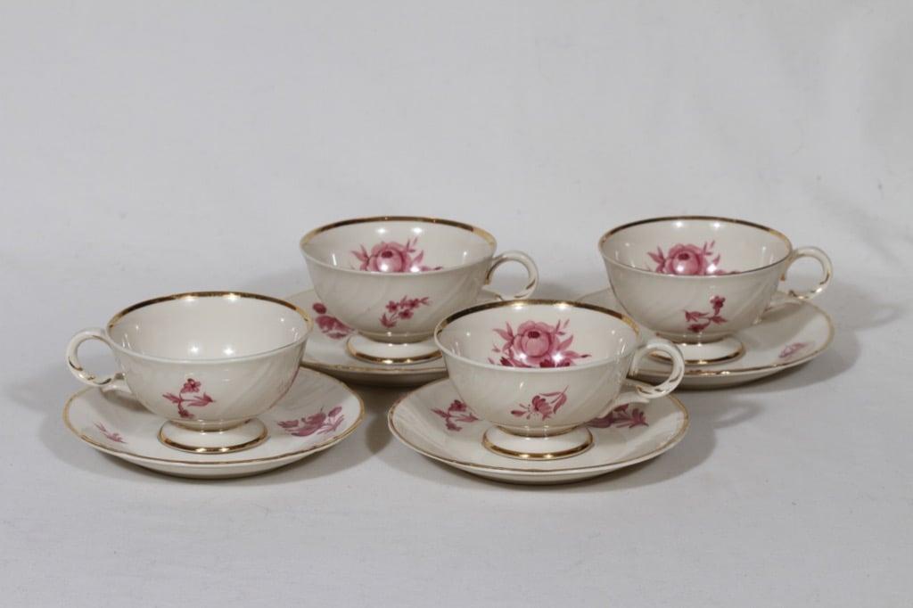 Arabia Regina coffee cups, 4 pcs, Svea Granlund