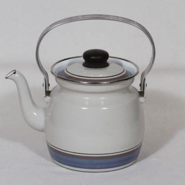 Finel kahvipannu, suunnittelija Inkeri Leivo, pieni, raitakoriste