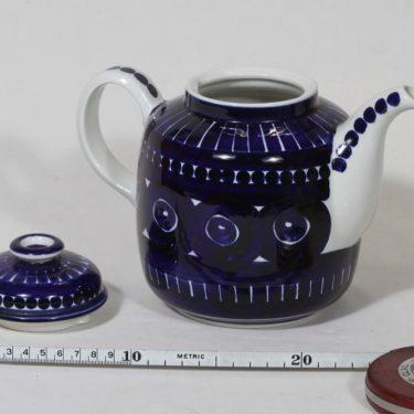 Arabia Valencia kahvikaadin, käsinmaalattu, suunnittelija Ulla Procope, käsinmaalattu, signeerattu kuva 2