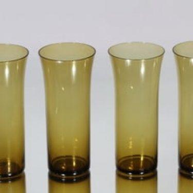 Nuutajärvi Trumpetti lasit, 40 cl, 4 kpl, suunnittelija Kaj Franck, 40 cl