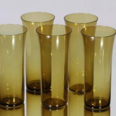Nuutajärvi Trumpetti lasit, 40 cl, 5 kpl, suunnittelija Kaj Franck, 40 cl