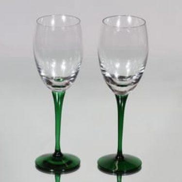Nuutajärvi Traviata lasit, 18 cl, 2 kpl, suunnittelija Saara Hopea, 18 cl