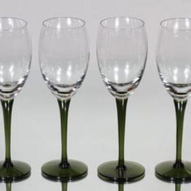 Nuutajärvi Traviata lasit, 18 cl, 4 kpl, suunnittelija Saara Hopea, 18 cl