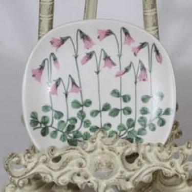 Arabia Botanica koristelautanen, Vanamo, suunnittelija Esteri Tomula, Vanamo, pieni, serikuva