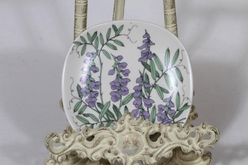 Arabia Botanica koristelautanen, Hiirenvirna, suunnittelija Esteri Tomula, Hiirenvirna, pieni, serikuva
