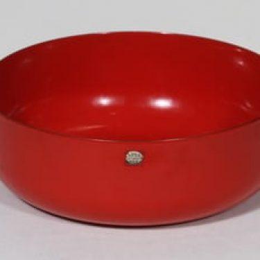 Finel kulho, punainen, suunnittelija , suuri