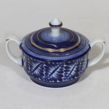 Arabia nimetön koriste sokerikko, käsinmaalattu, suunnittelija , käsinmaalattu