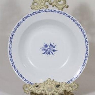 Arabia kukkakuvio lautanen, syvä, suunnittelija , syvä, kuparipainokoriste