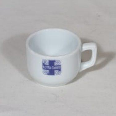Arabia Lotta-Svärd kuppi, suunnittelija , pieni, painokoriste