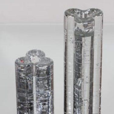 Iittala Arkipelago kynttilänjalat, eri kokoja, 2 kpl, suunnittelija Timo Sarpaneva, eri kokoja, massiivinen