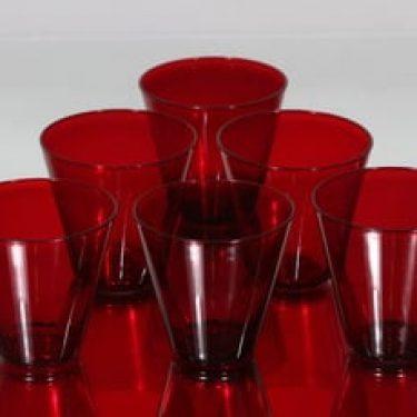 Nuutajärvi Kartio lasit, 18 cl, 6 kpl, suunnittelija Kaj Franck, 18 cl