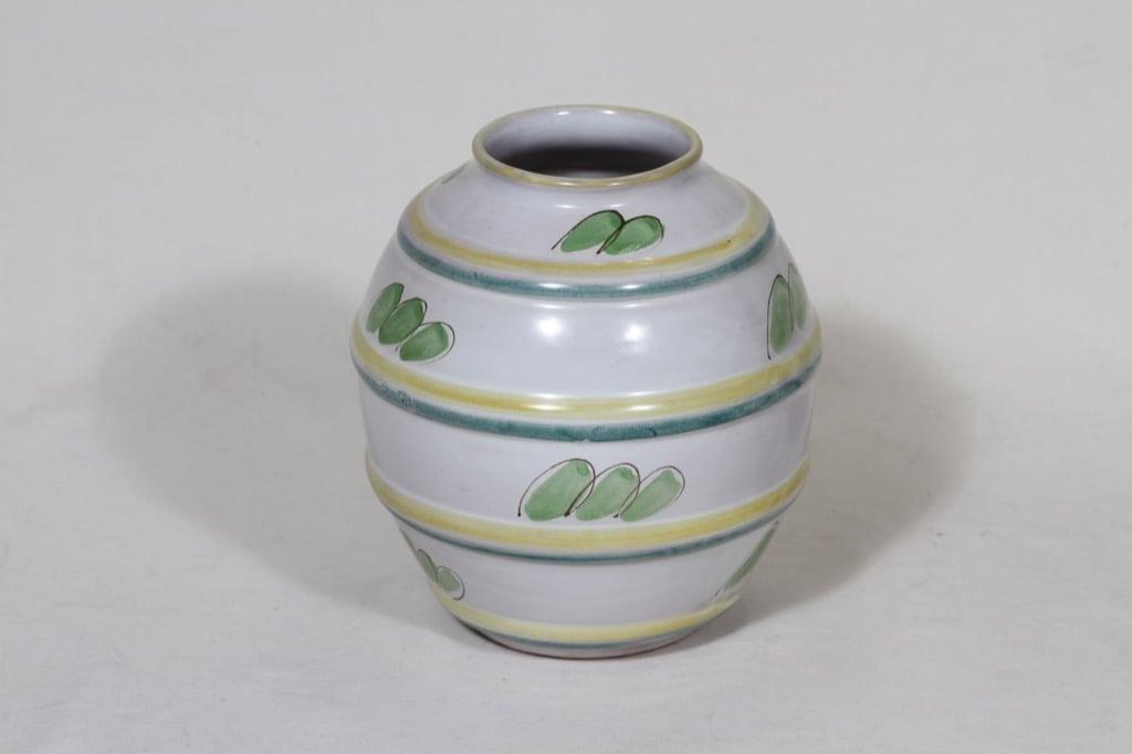 Arabia ARA vase, hand-painted, Kurt Ekholm