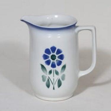 Arabia nimetön koriste kaadin, 1 l, suunnittelija , 1 l, puhalluskoriste, kukka-aihe