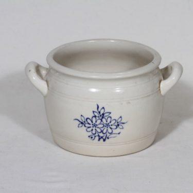 Arabia kukkakuvio ruukku, 1 l, suunnittelija , 1 l, kobolttimaalaus
