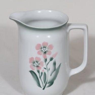 Arabia nimetön kukkakuvio kaadin, 1.5 l, suunnittelija , 1.5 l, suuri, puhalluskoriste, kukka-aihe