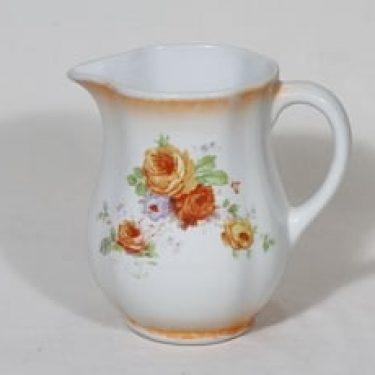 Arabia nimetön kukkakuvio kaadin, 1 l, suunnittelija , 1 l, siirtokuva, lysterifondi